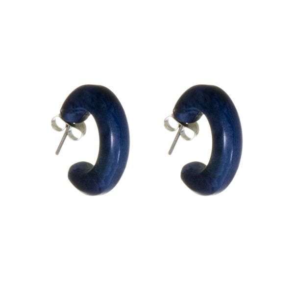 Rachel Small Hoop Studs - Earrings - Just Trade - Jewellery - Arlette Gold
