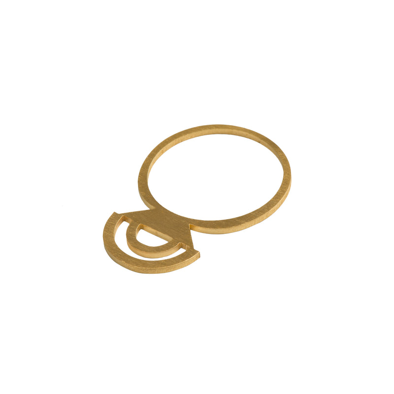 Gold Rainbow Ring - Ring - Retrospective Jewellery - Jewellery - Arlette Gold
