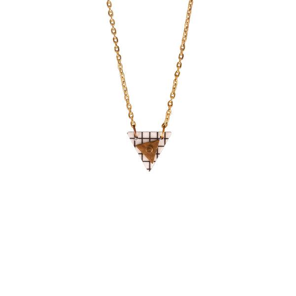 Triangle Column Necklace Grid