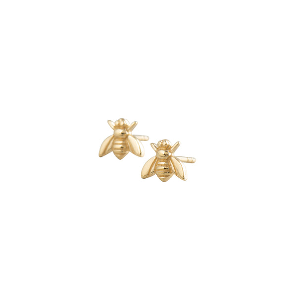 Gold Bee Studs - EArrings - Laviandbelle - Jewellery - Arlette Gold