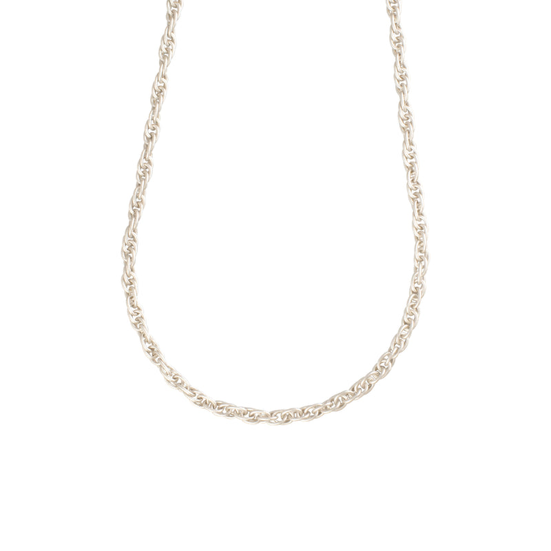 25 inch Double Twist Necklace - Antique Silver - Necklace - Sarah Cavender - Jewellery - Arlette Gold