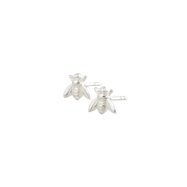 Silver Bee Studs - Earrings - Laviandbelle - Jewellery - Arlette Gold