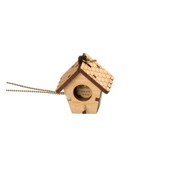 3D Birdhouse Necklace - Kids - Brainbow - Jewellery - Arlette Gold