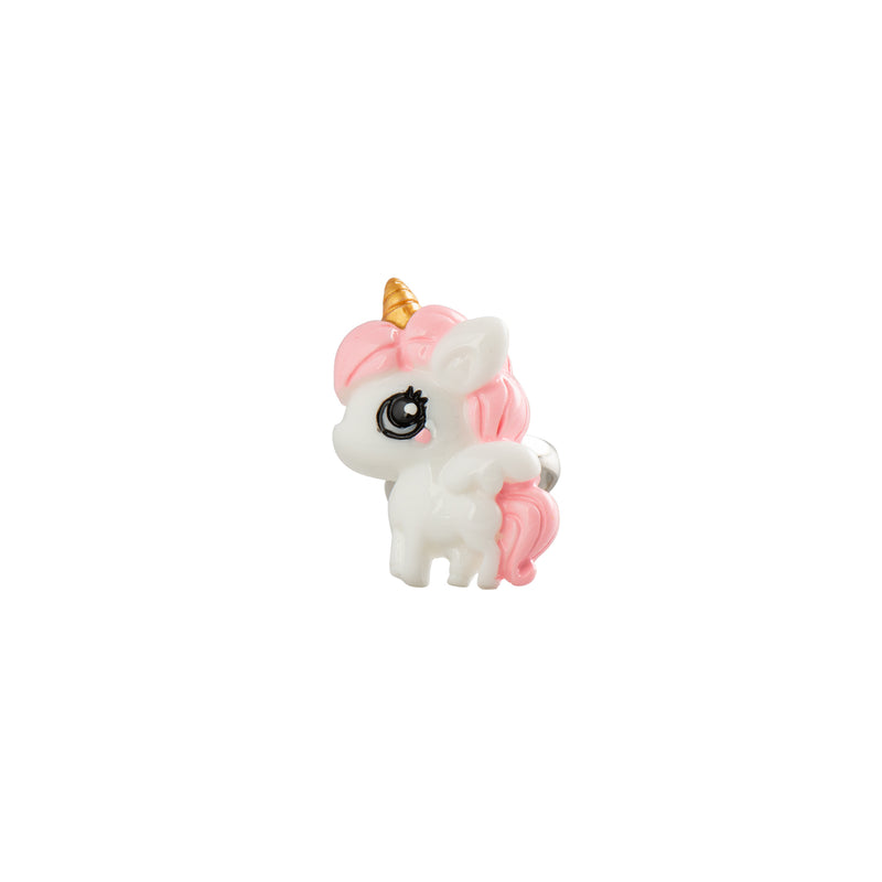 Cute Unicorn Ring Pink Mane - Kids - Pop Cutie - Jewellery - Arlette Gold