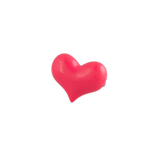 Fuchsia Pink Heart Ring - Kids - Pop Cutie - Jewellery - Arlette Gold