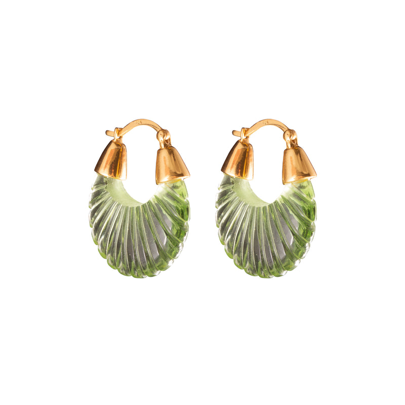 Ettienne Earrings Green