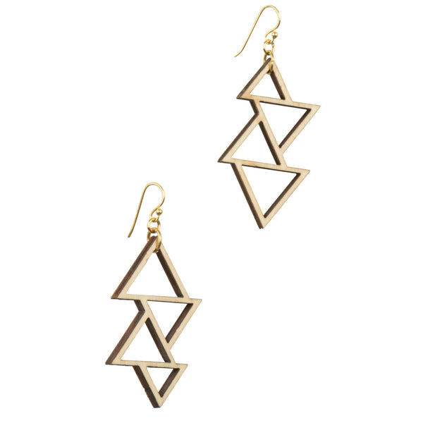 Triangle Earrings - Earrings - Evgenia Elkind - Jewellery - Arlette Gold