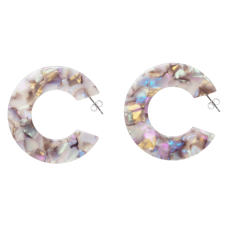 Ananda Earrings - Lisbon Shell