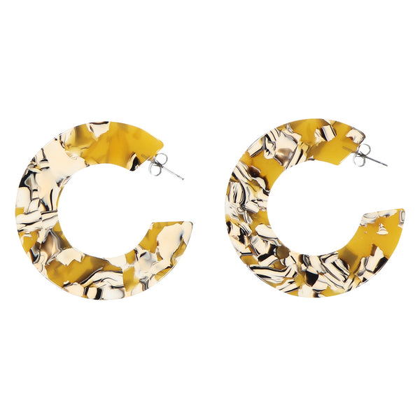 Ananda Earrings - Copenhagen Yellow