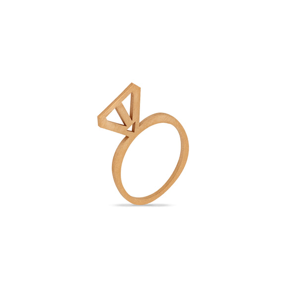 Gold Arrow Ring - Ring - Retrospective Jewellery - Jewellery - Arlette Gold