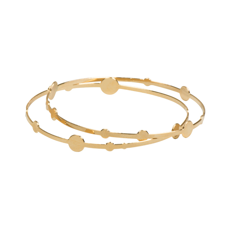 Gold Universe Bracelet (Mini) - Kids - Shlomit Ofir - Jewellery - Arlette Gold