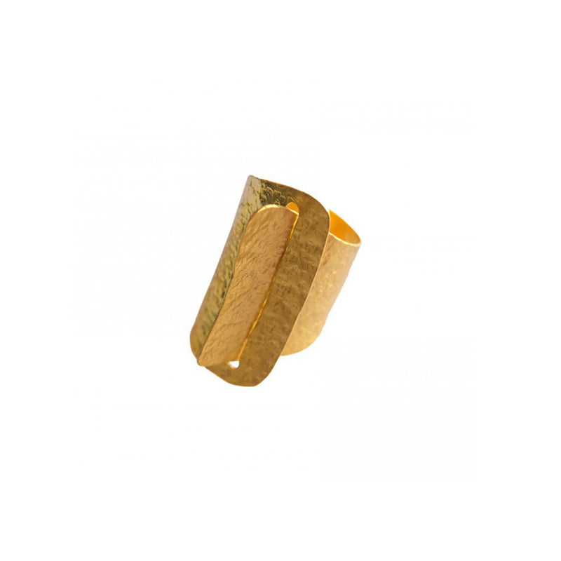Buckle Detail Ring - Ring - FL Private Collection - Jewellery - Arlette Gold