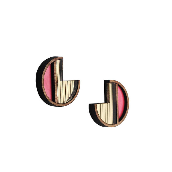 Soleil Blush Earrings - Earrings - Chalk Jewellery - Jewellery - Arlette Gold