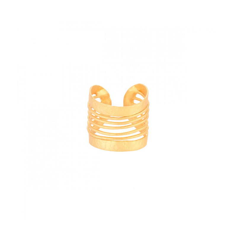 Bar Outline Open Ring - Ring - FL Private Collection - Jewellery - Arlette Gold