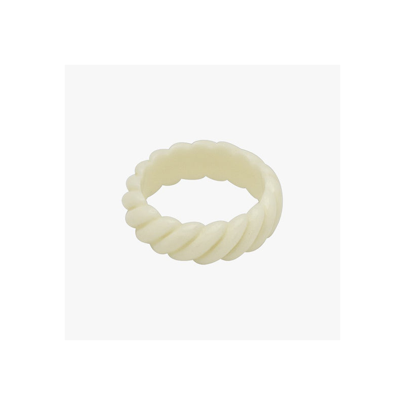 Mix It Up Ivory Ring - Ring - Wildthings Collectables - Jewellery - Arlette Gold
