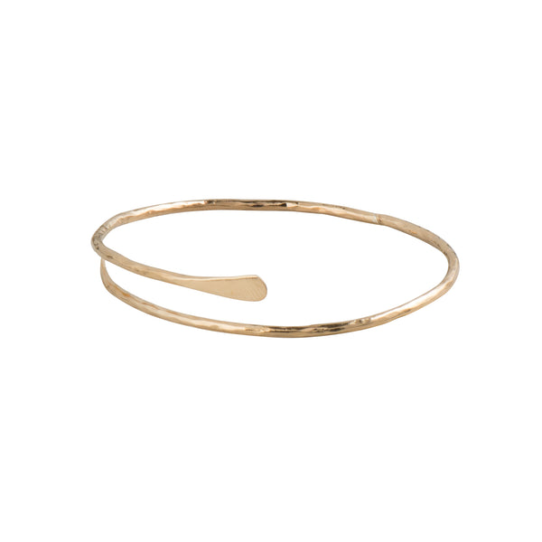 Gold Meadow Bangle - Bracelet - Just Trade - Jewellery - Arlette Gold