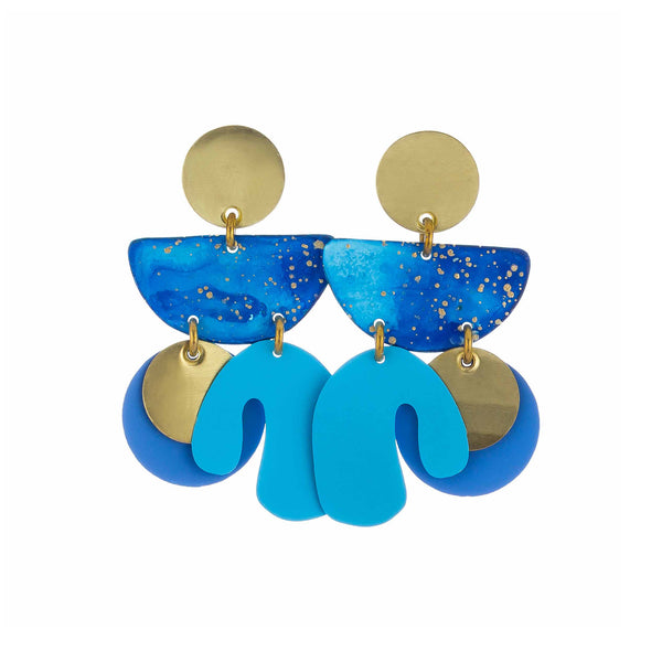 Piba Earrings Patmos - Earrings - Sibilia - Jewellery - Arlette Gold