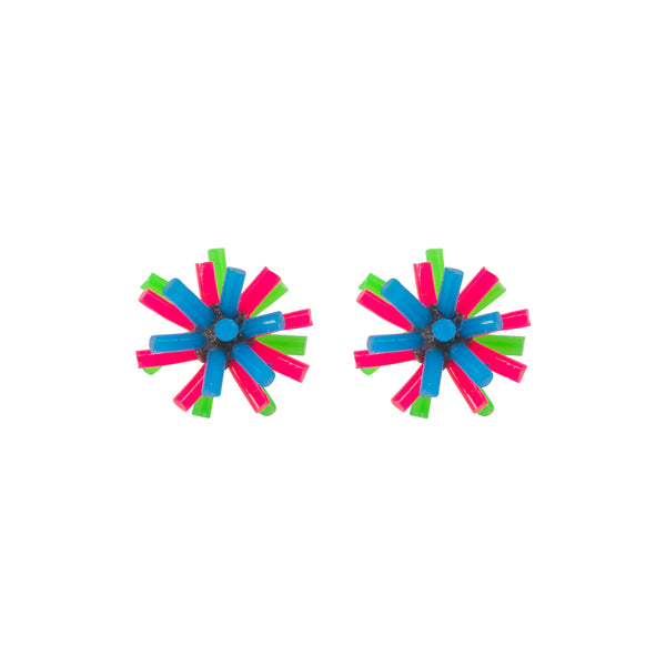 Silicone Earrings - Colourway C