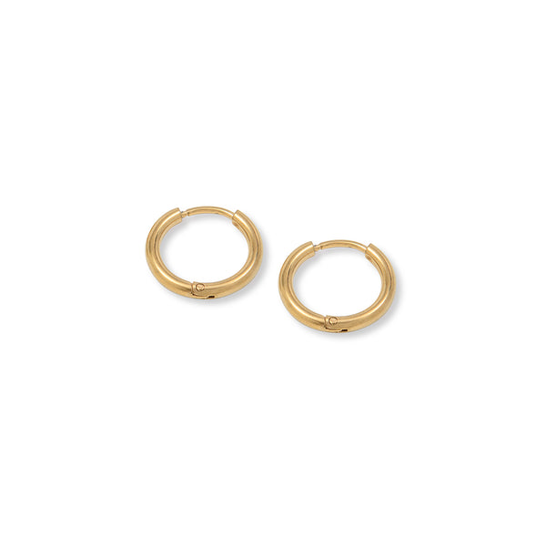 Gold Madison Hoops
