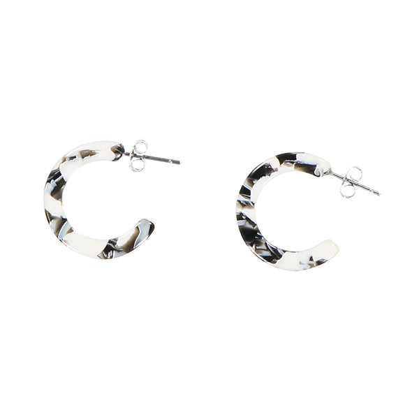 Anaïs Earrings - Berlin Black/White