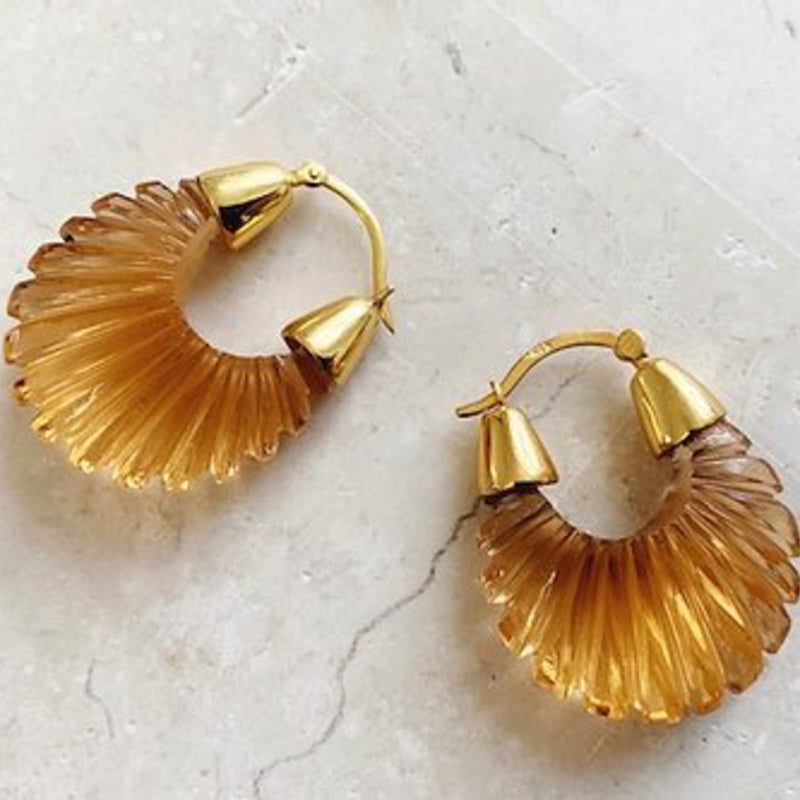 Ettienne Earrings Champagne