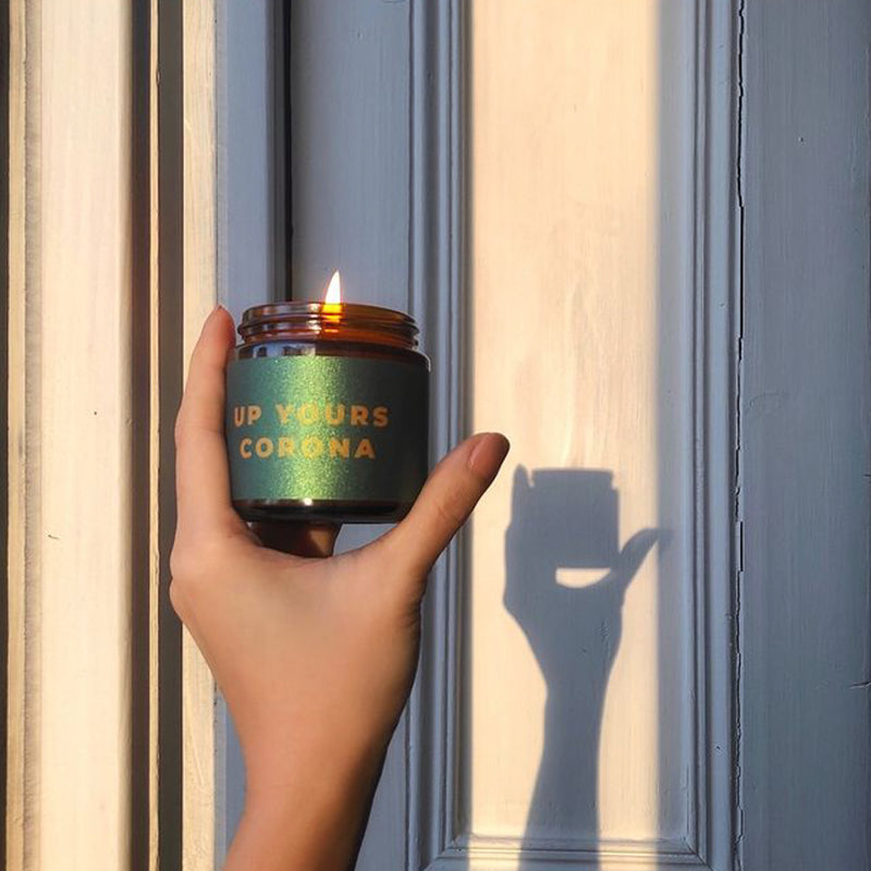 Little Karma Co. 'Up Yours Corona' Candle