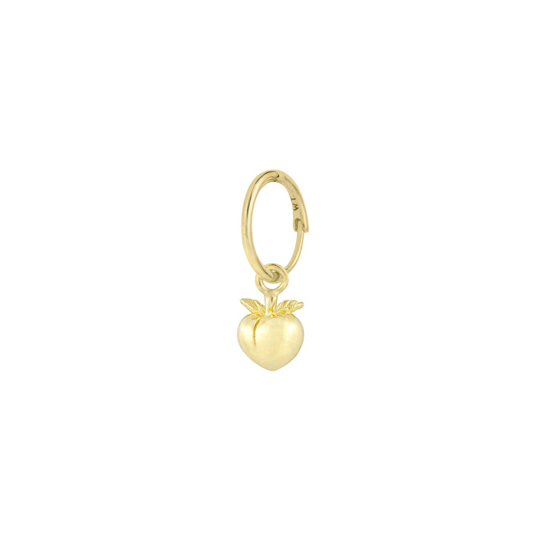 Gold Vintage Peach Earring