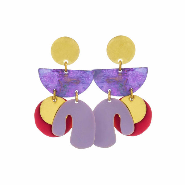 Piba Earrings Provence