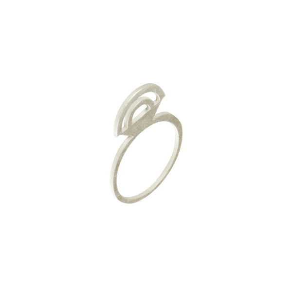 Silver Rainbow Ring - Ring - Retrospective Jewellery - Jewellery - Arlette Gold