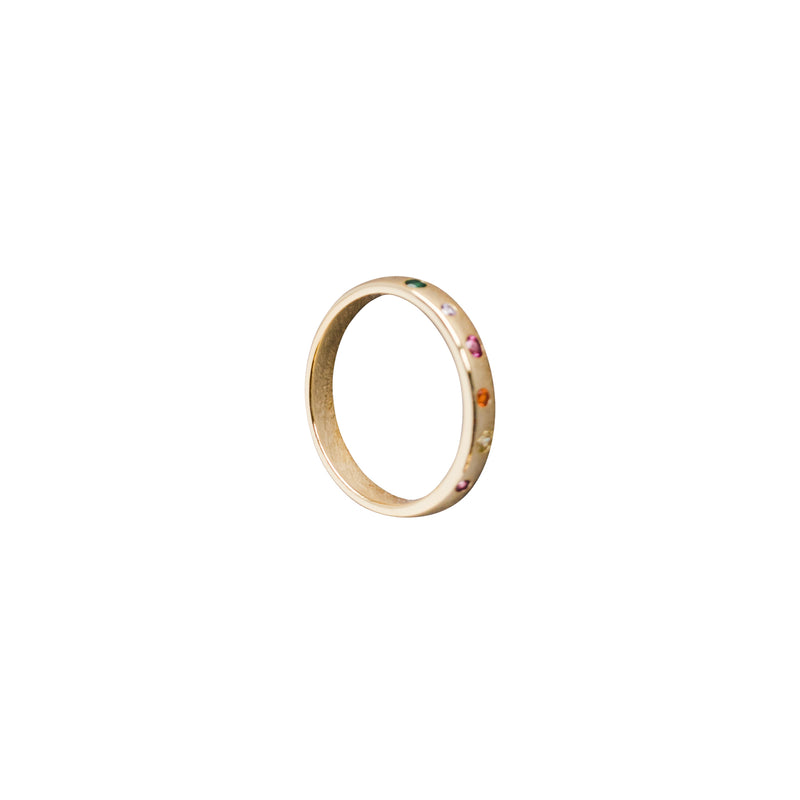 Rainbow Band Ring - Ring - Laviandbelle - Jewellery - Arlette Gold