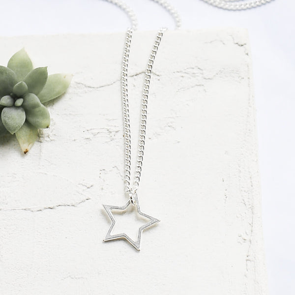 Silver Tiny Star Necklace - Kids - Shlomit Ofir - Jewellery - Arlette Gold