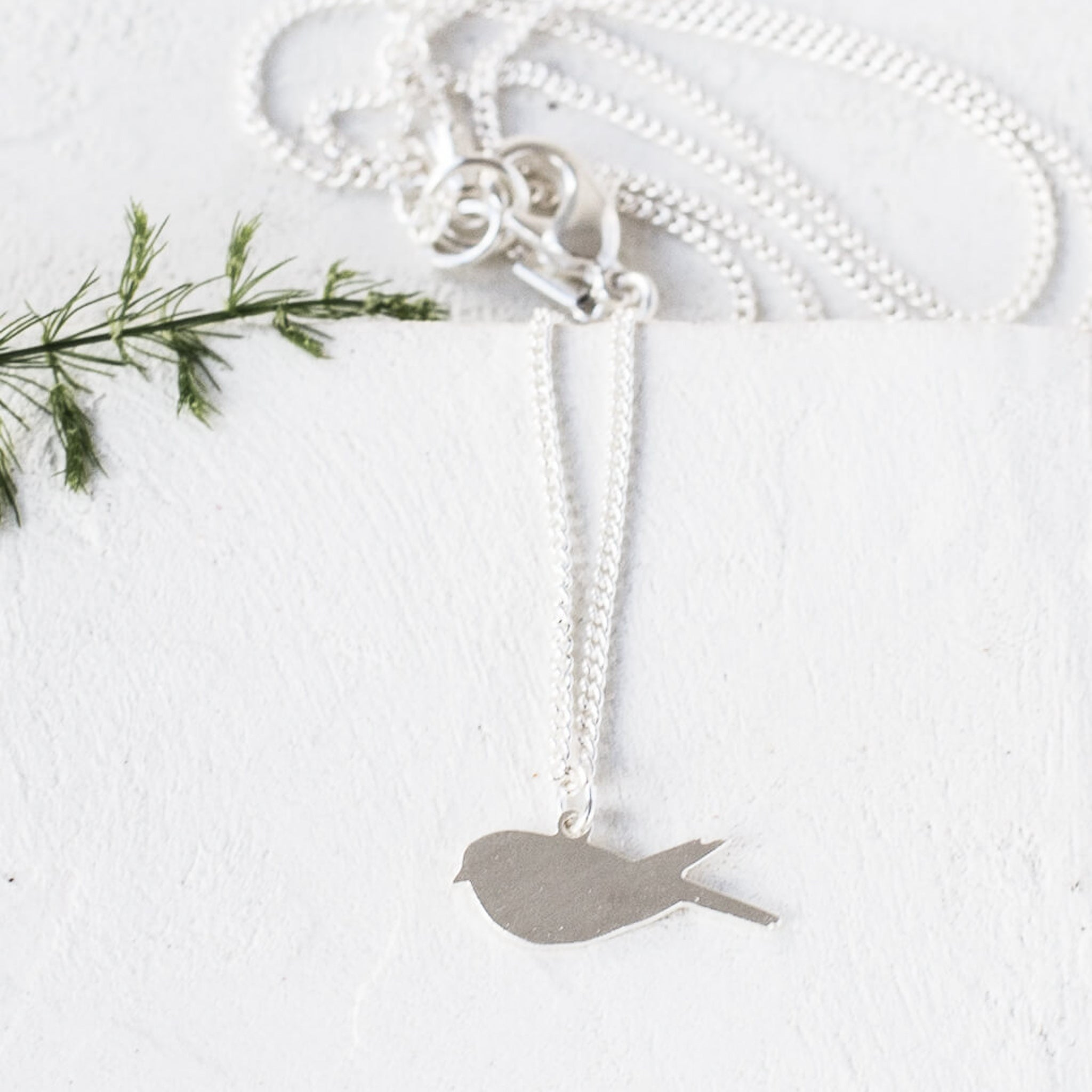 bird bonas cut silver out pendant geo oliver jewellery necklace