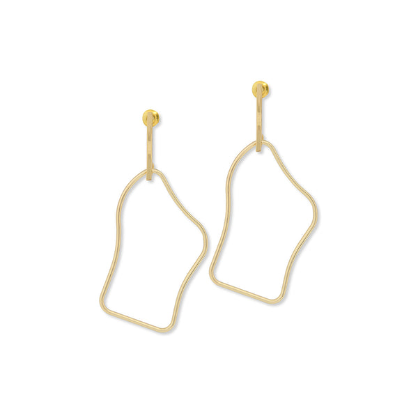 Gold Sena Earrings