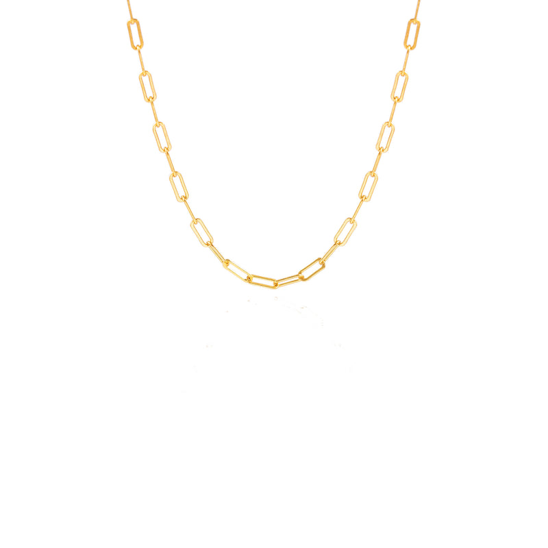 Gold Short Rada Chain Necklace