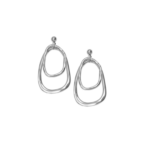 Silver Willa Earrings