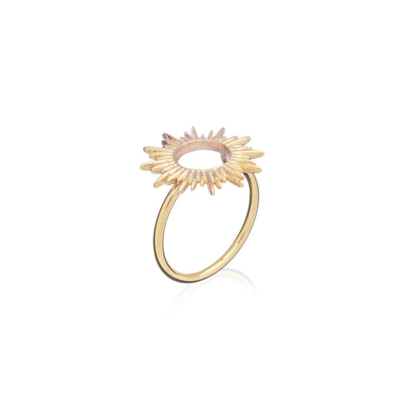 Electric Goddess Sun Ring - Ring - Rachel Jackson - Jewellery - Arlette Gold