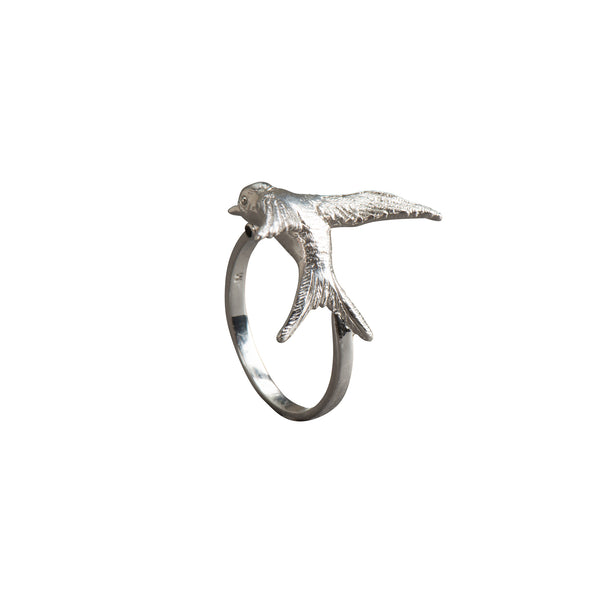Silver Statement Swallow Ring - Ring - Roz Buehrlen - Jewellery - Arlette Gold