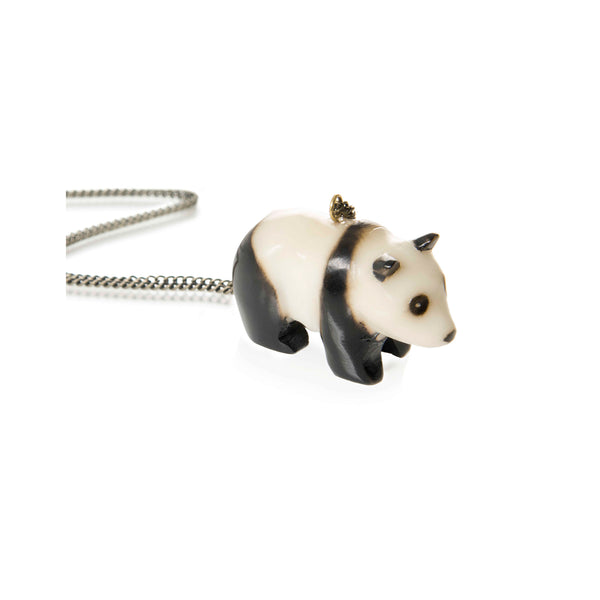 Tagua Panda Pendant - Kids - Just Trade - Jewellery - Arlette Gold