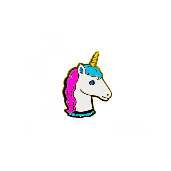 Unicorn Enamel Pin - Kids - Acorn and Will - Jewellery - Arlette Gold
