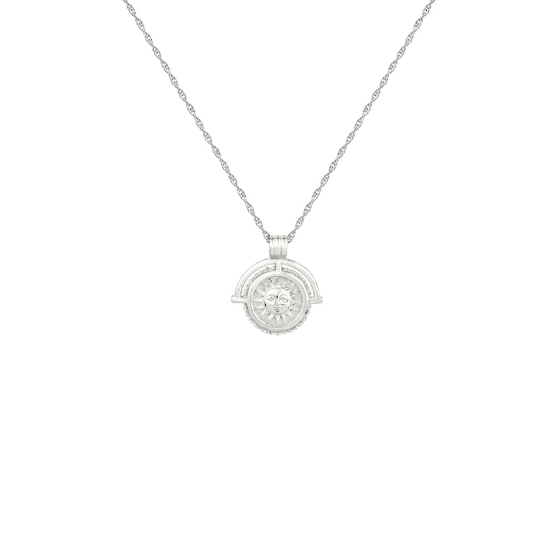 Silver Nightfall Pendant Necklace