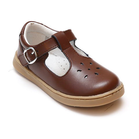 Chelsea Classic Leather T-Strap Mary Jane (Toddler/Little Kid)