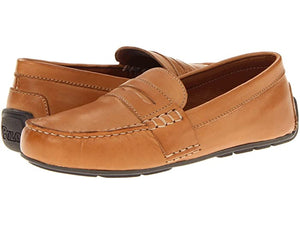 Telly Leather Penny Loafer (Big Kid)
