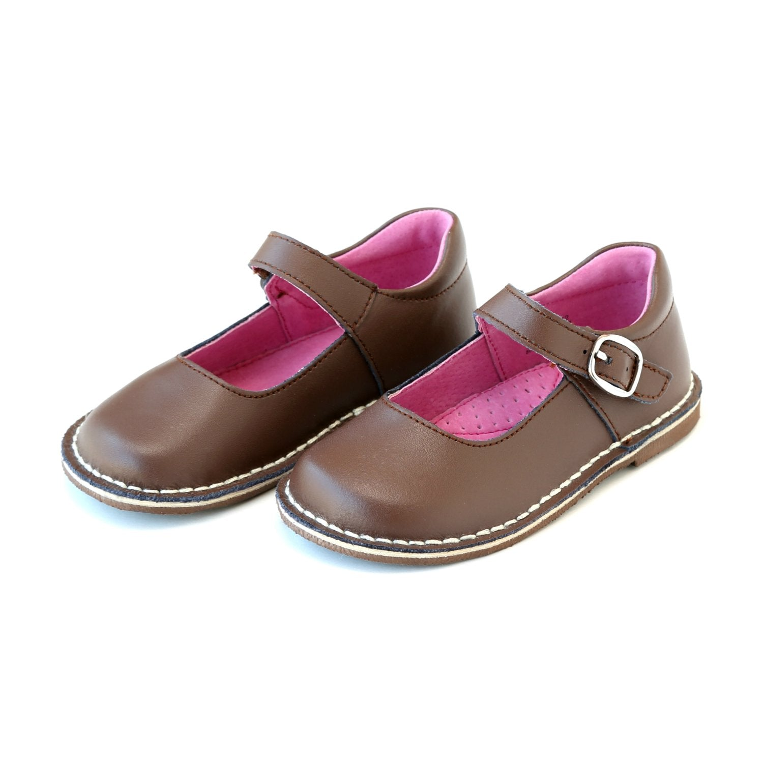 Grace Leather Stitch Down School Mary Jane