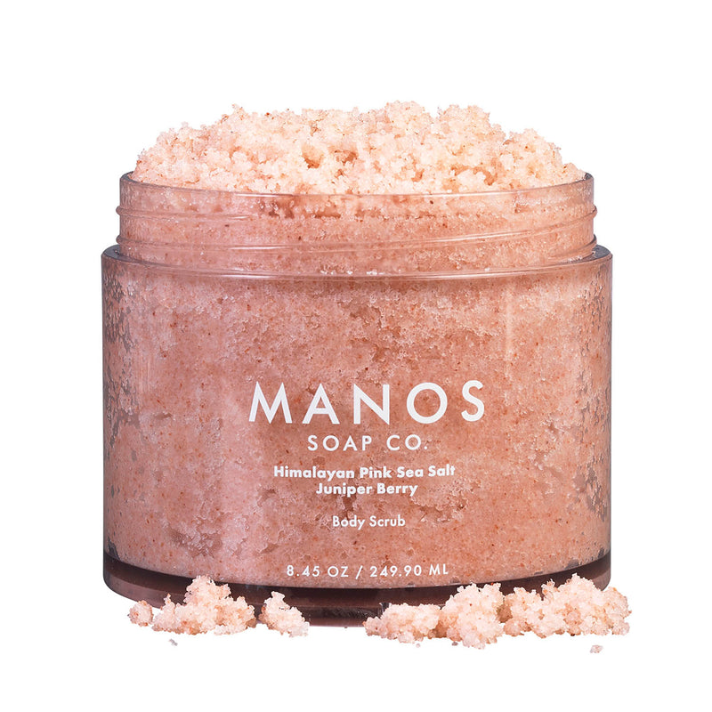 Himalayan Pink Sea Salt Juniper Berry Body Scrub