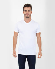 Combed Cotton Crew Neck