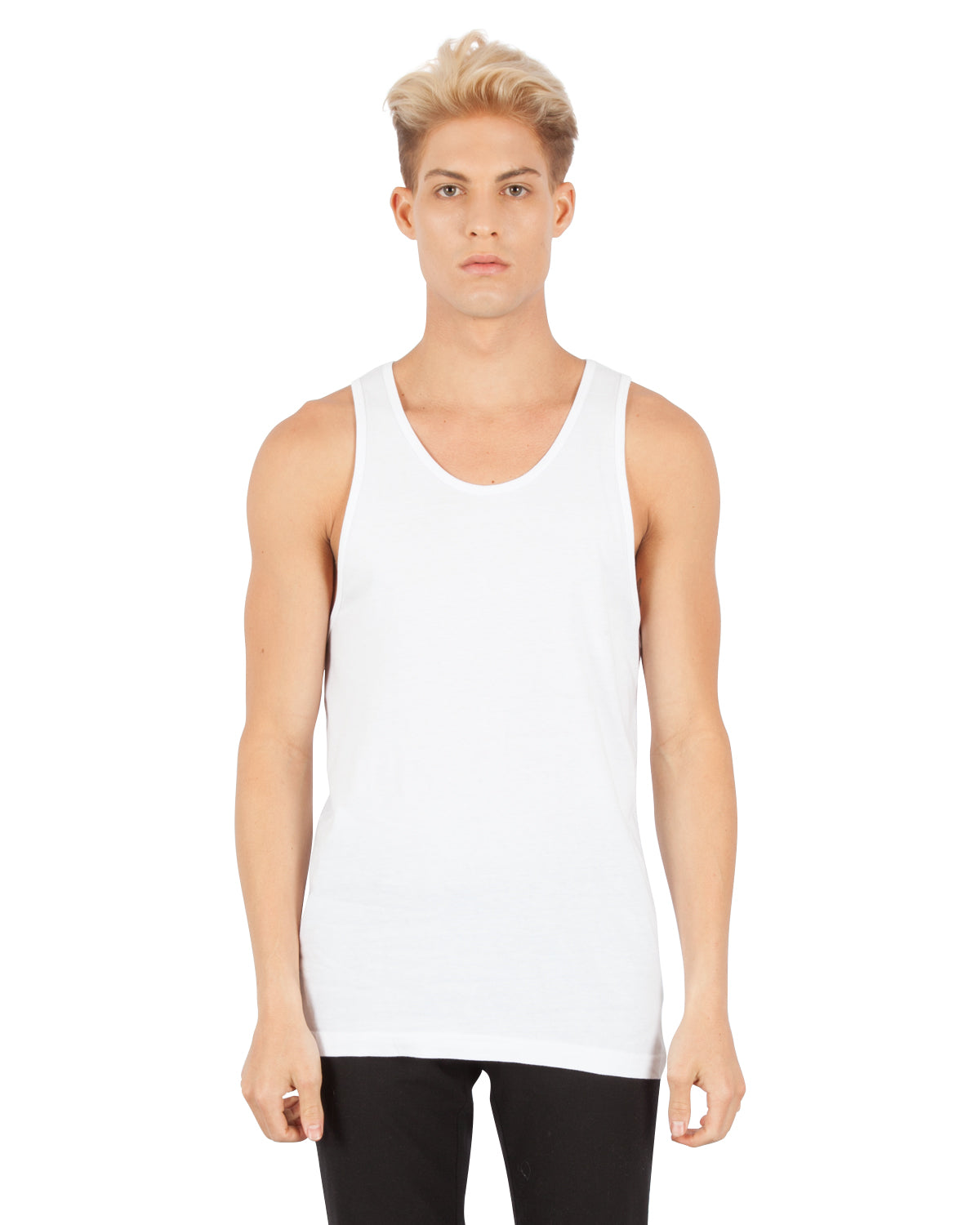 1340 Combed Cotton Tank Top