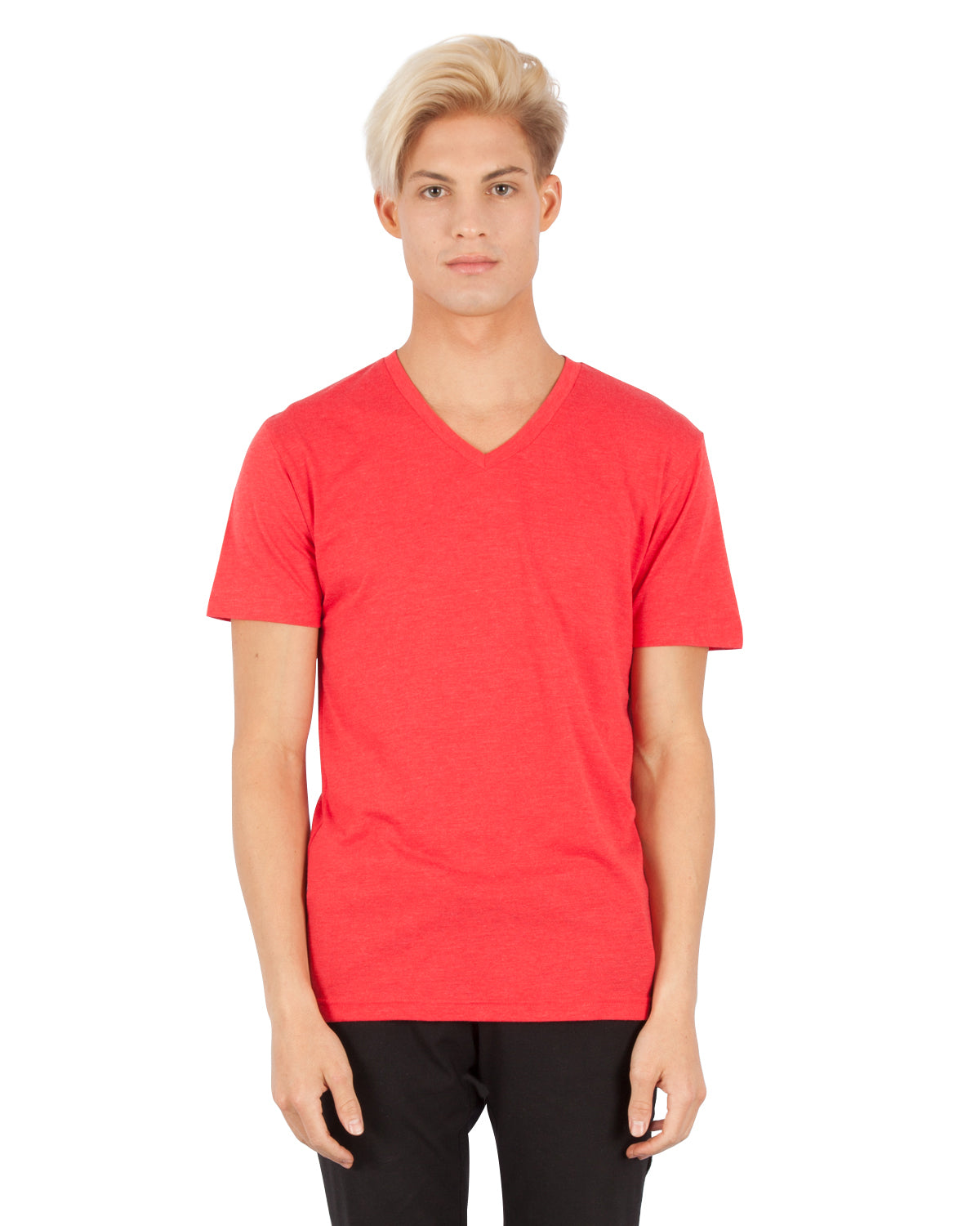 3320 Triblend V-Neck