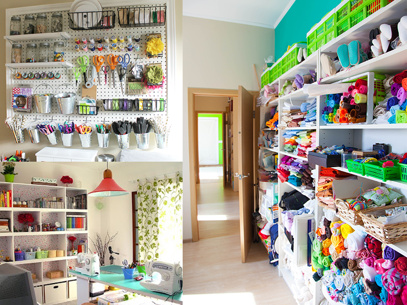 Make Room for Crafting: How to Create Creative Space in Any Room