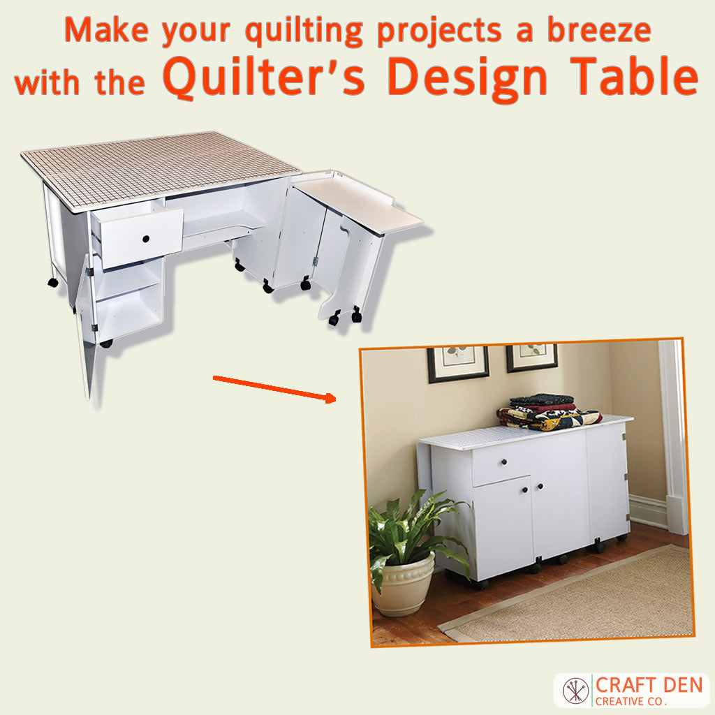 Make your quilting projects a breeze with the Quilter's Design Table