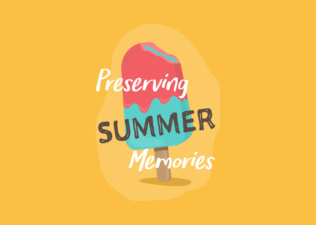 Craft Ideas For Preserving Summer Memories